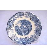 """JOHNSON Bros Rare Vintage Blue & White Mill Stream replacement for 5 3/4"""" saucer - $7.42"""