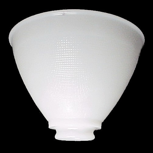 Opaque milk glass white lamp shade ies reflector 8 in fine for 8 inch glass floor lamp reflector shade glass