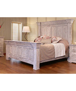 Rustic Penelope Queen Bed Solid Wood Western Style - $1,781.01