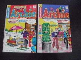 Archie comics~lot of 2~1975~very nice~No. 242/243 - $12.95