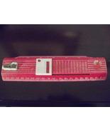 "Admiration combo ruler~""calculator""~pencil sharpener~Back to Old School ! - $10.95"