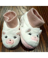 NWT Girl's Size 4-5 or 6-7 Capelli Kids NY White/ PInk Furry Kitten Slip... - $10.89+