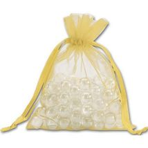 Gold Organdy Bags - 36 count - $8.00+