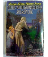 Nancy Drew mystery The Whispering Statue No.14 hcdj 1949A-27 FARAH Carol... - $30.00