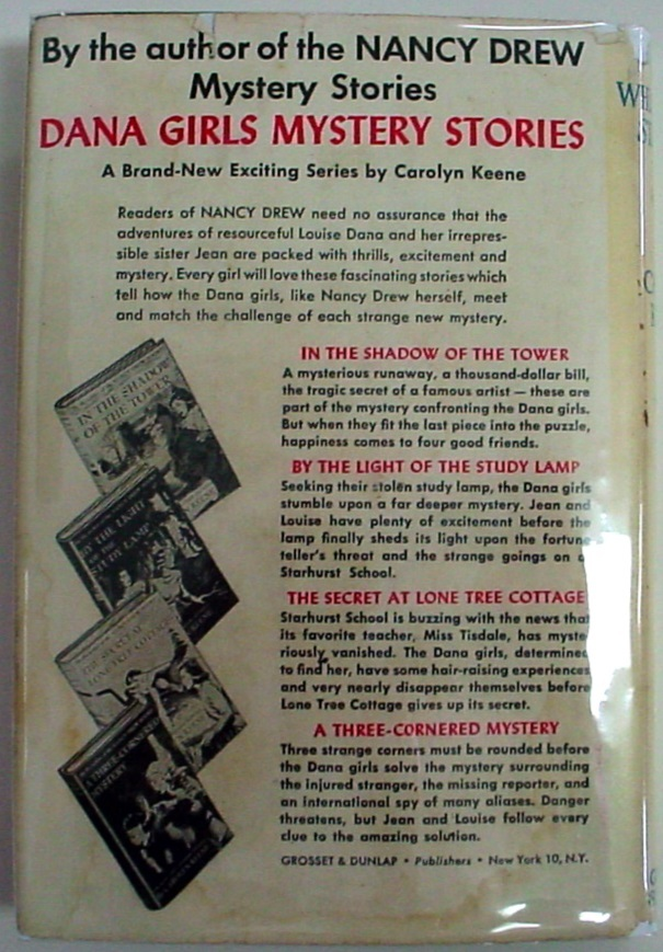 Nancy Drew mystery The Whispering Statue No.14 hcdj 1949A-27 FARAH Carolyn Keene