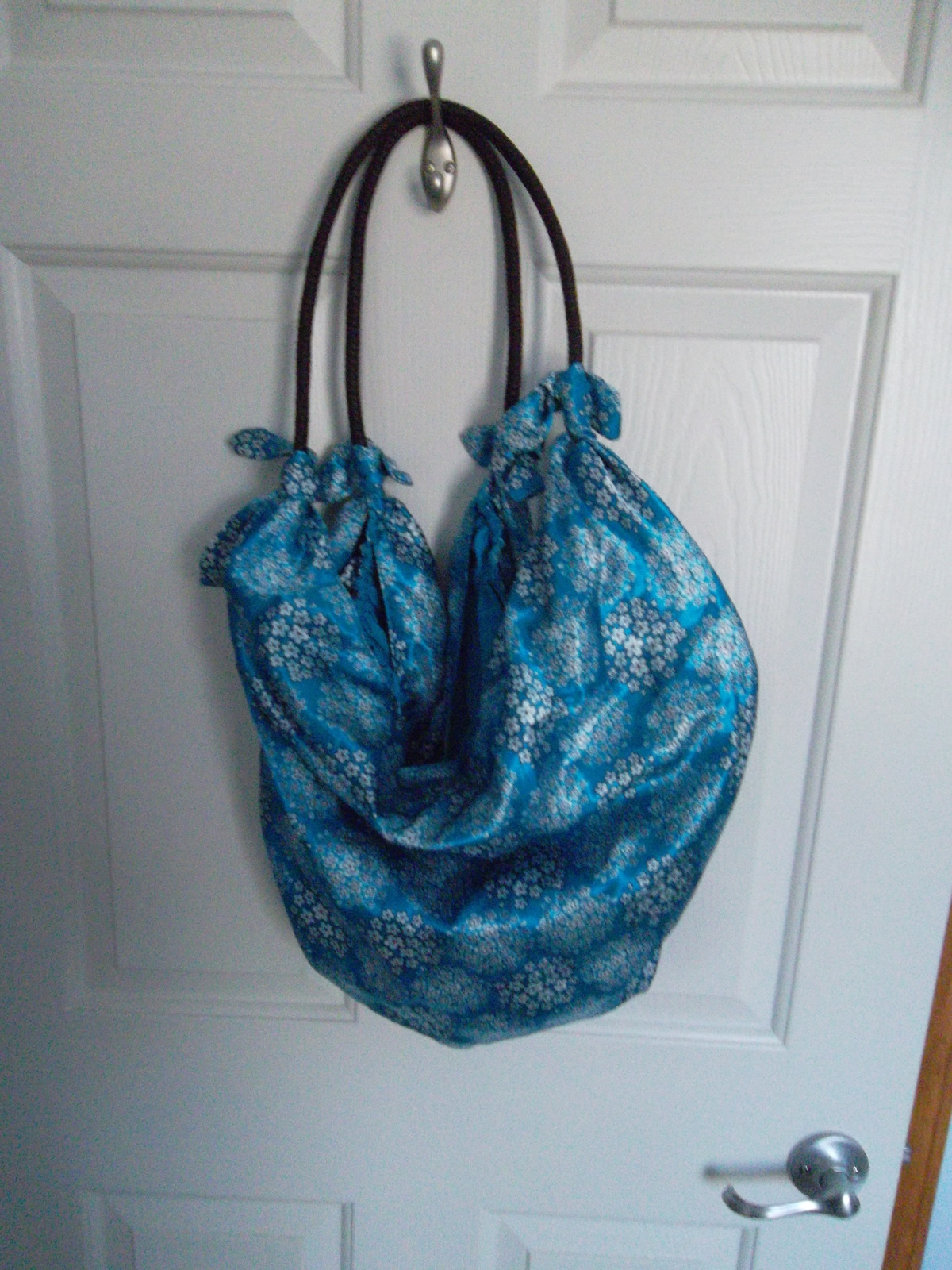 Old navy blue tote audrey 002