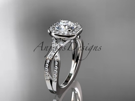 Latinum  diamond wedding ring  diamond engagement ring  forever brilliant moissanite  1 thumb200