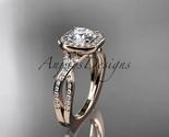 Ld  diamond wedding ring  diamond engagement ring  forever brilliant moissanite  1 thumb155 crop