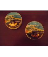 TWO Vintage La Vosgienne Licorice Drops tins~Bonbons Reglisse~2oz size~F... - $13.95
