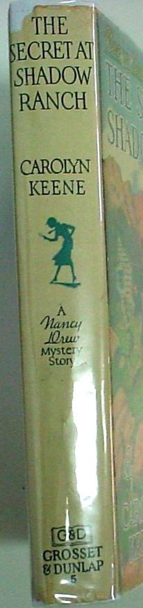 Nancy Drew mystery The Secret At Shadow Ranch No.5 hcdj 1943A-35 Carolyn Keene