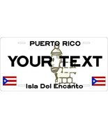 Puerto Rico Custom Personalized Tag Vehicle Car Auto License Plate - $16.75