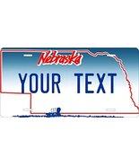 Nebraska Custom Personalized Tag Vehicle Car Auto License Plate - $16.75