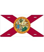 Florida Flag Novelty Custom Personalized Tag Vehicle Car Auto License Plate - $16.75