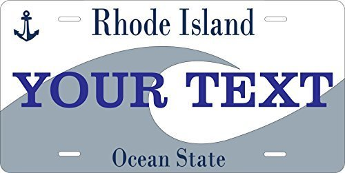 Rhode Island State Novelty Custom Personalized Tag Vehicle Car Auto License P...