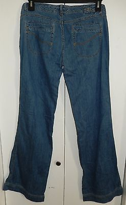 BILLABONG Lightweight Low Rise Baggy Jeans Sz 9  33x33