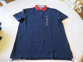 Men's Tommy Hilfiger Polo shirt  logo 7868433 Navy Blazer 416 S Classic Fit NWT - $59.39