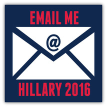 Email me - Anti Hillary 2016 Political 4x4 Anti Hillary Magnet Decal Car - $5.99