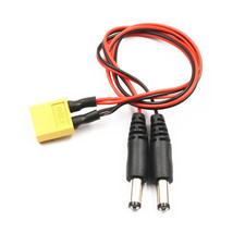 XT60 Male to DC 5.5/3.5 Power Cable For FPV Goggles Battery Receiver Mon... - $8.09