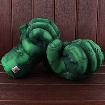The Incredible Hulk Gloves Plush Toy Superhero Marvel Toys Hulk Cosplay Christma image 4