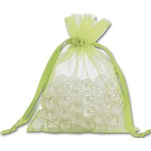 Lime Organdy Bags - 36 count - $8.00+