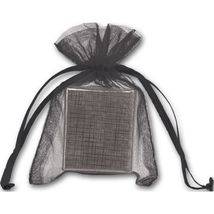 Black Organdy Bags - 36 count - $8.00+