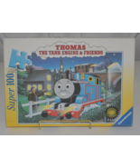 The Midnight Ride of Thomas the Tank Engine & Friends Ravensburger Glow ... - $9.95