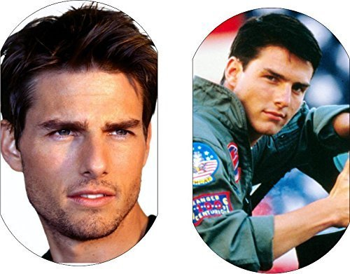 Tom Cruise Movie Mission Impossible ID Dog 2 Sided Tag Aluminum Necklace Chains