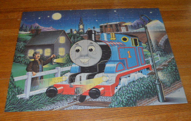 The Midnight Ride of Thomas the Tank Engine & Friends Ravensburger Glow in the D