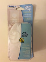 Safety 1st Outlet Plugs reusable  - $6.75