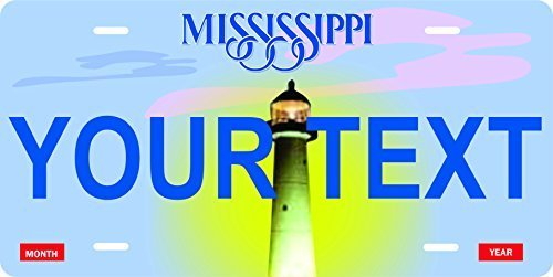 Mississippi Novelty Custom Personalized Tag Vehicle Car Auto License Plate