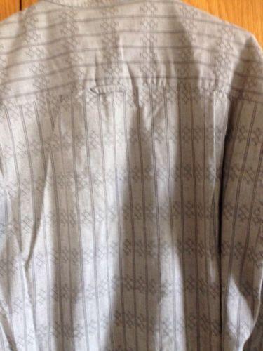 Henry Grethel Men's Neru Shirt Club Shirt Size L 42 Cm 100% Cotton
