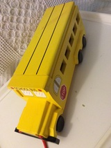Wood Block Pulling School Bus ABC's and Numbers Toy - $30.00