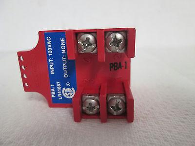 NEW Banner Engineering 16385 PBA-1 Multi-Beam 3- and 4-Wire Power Block,120 VAC