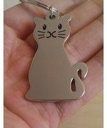 BRAND NEW KITTY CAT KITTEN METAL KEY CHAIN KEYRING -UK SELLER IMMEDIATE ... - $5.95