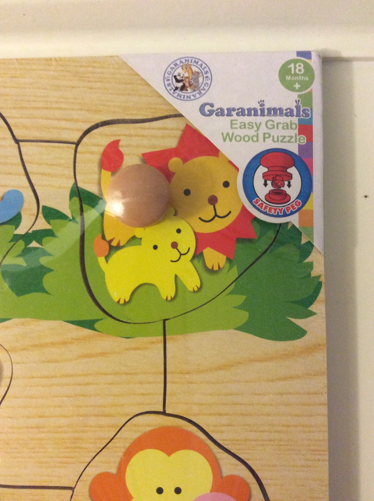 Boys & Girls Wooden Puzzle Toys GarAnimals & Pier 1 Imports Matching game
