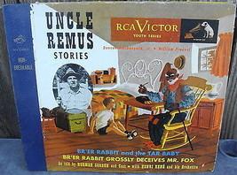 Vintage 1950s Uncle Remus' Stories Br'er Rabbit Norman Cordon 78 RCA Vic... - $36.00
