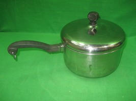Vintage Farberware Aluminum Clad Stainless Steel Sauce Pan & 2 Quarts Made USA - $16.79