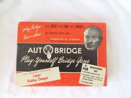 Vintage Autobridge Play-Yourself Bridge Game PG... - $13.99