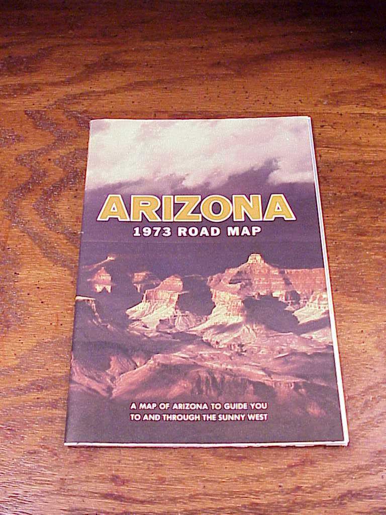 Arizona 1973 map  1