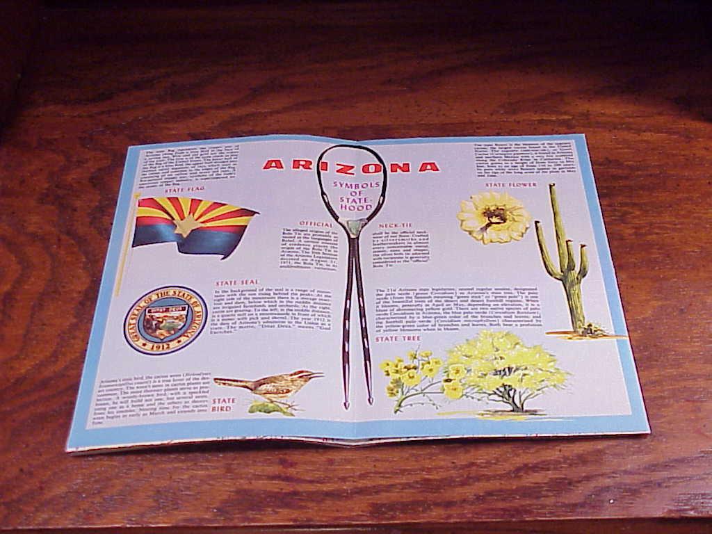 1973 Arizona Highway Foldout Map