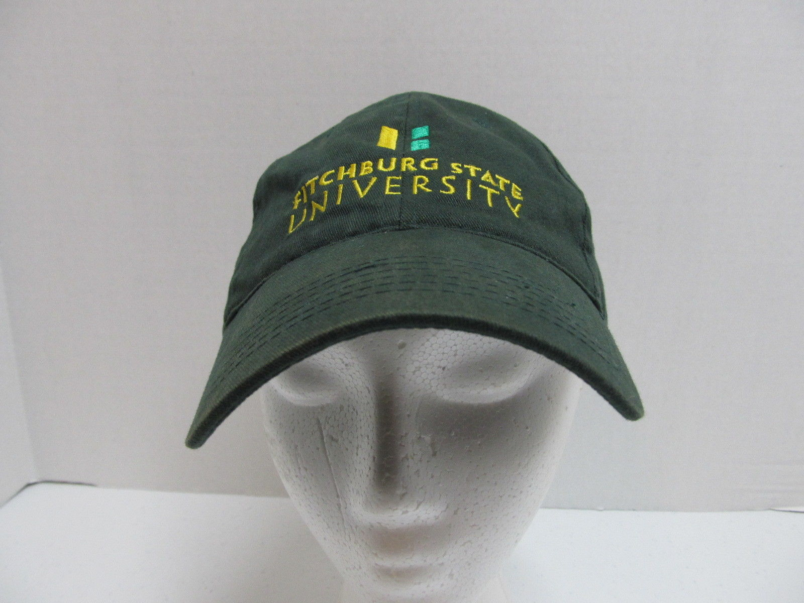 Fitchburg State University Distressed Baseball Cap Trucker Hat Velcro Adjust