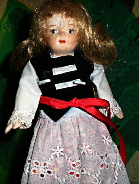Playtown Dolls -The Porcelain Collection International Series