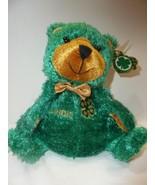 "Glory Be 4 H Teddy Bear 6"" Beanbag Plush Green ... - $10.99"