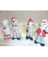 Vintage Ceramic Small Circus Clown Figurines Lo... - $29.99