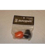 Brine 2 pack Lacrosse endos King logo ENDO womens black orange NOS NEW o... - $19.78