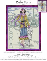 Belle Paris JE055 cross stitch chart Joan Elliott Designs - $14.00