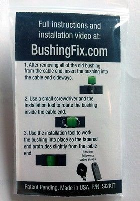 Pontiac Aztek Transmission Shift Cable Repair Kit w/ bushing Easy Install