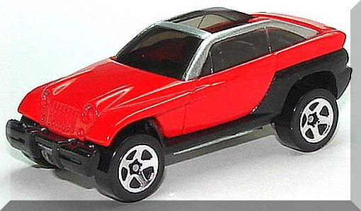 Hot Wheels - Jeepster: 1999 First Editions #17/26 - Collector #922 *Red Edition*
