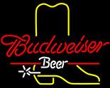 Budweiser cowboy boot neon sign 16  x 16  thumb155 crop