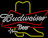 Budweiser bowtie cowboy boot neon sign 16  x 16  1 thumb155 crop